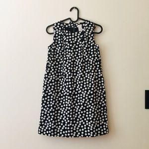 Crewcuts   Black & White Polka Dot Shift Dress